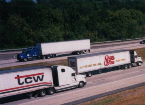 interstate truck traffic
