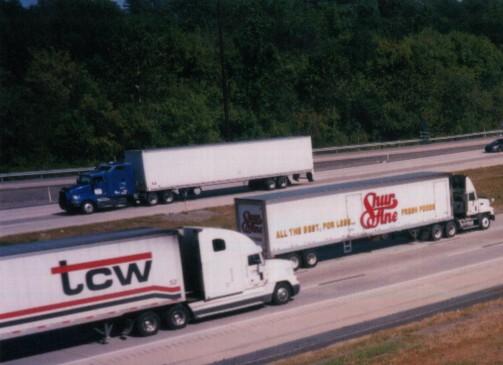 interstate truck traffic